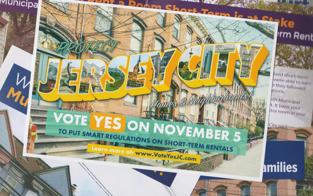 Vote Yes to Regulations on Short-Term Rentals in Jersey City