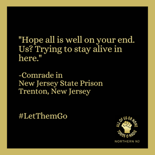 Calling on Governor Murphy to #LetThemGo
